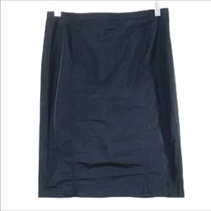 KORS MICHAEL KORS black nylon skirt 10